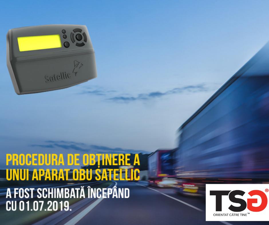 2019.07 Modificari privind procedura de obtinere a unui OBU Satellic la automatele din Belgia